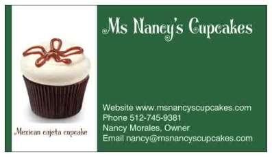 Ms Nancys Cupcakes Logo