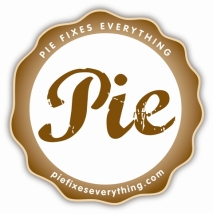 Pie Fixes Everything Logo