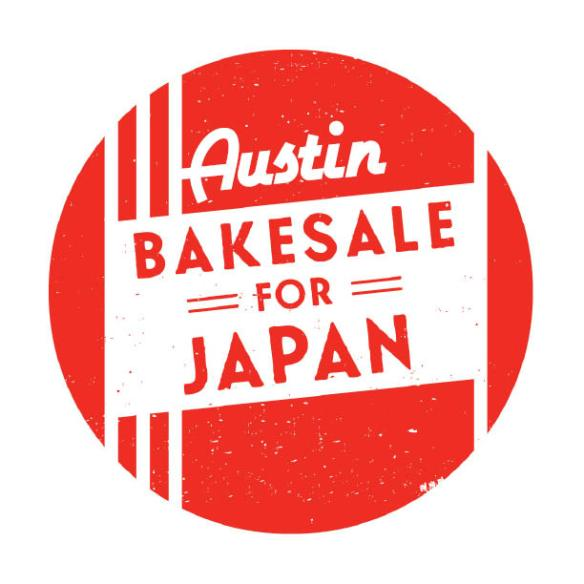 Austin Bakes for Japan Logo
