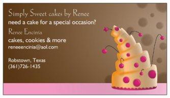 simply sweet cakes by renee