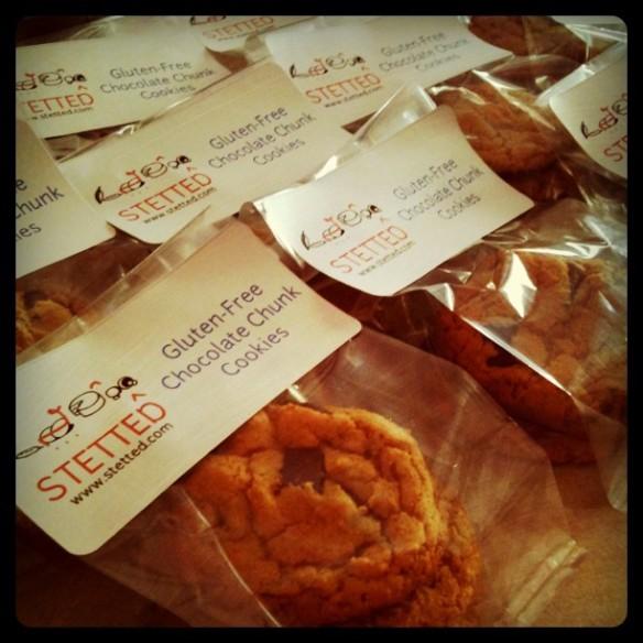 Gateway- Gluten free choco chip cookies- stetted