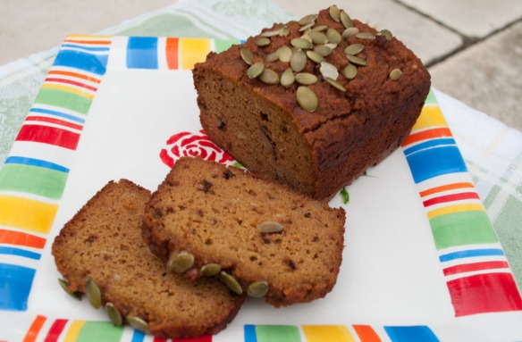 Pumpkin Bread from Totally Nuts Bakery